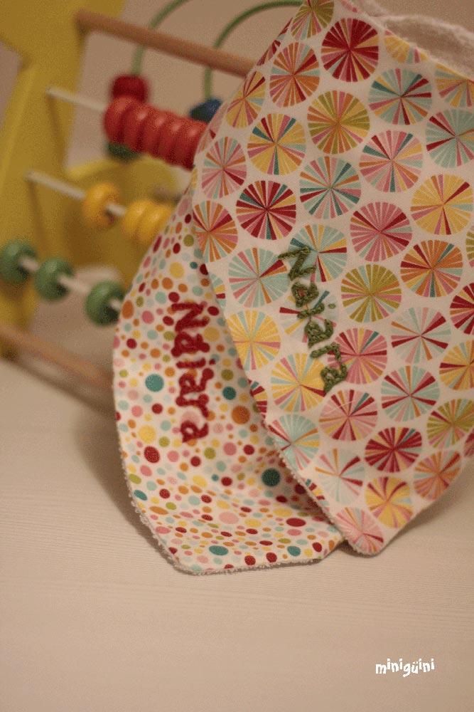 Babero bandana personalizado