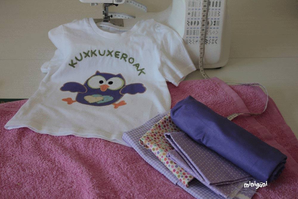 Camiseta bordada bebé