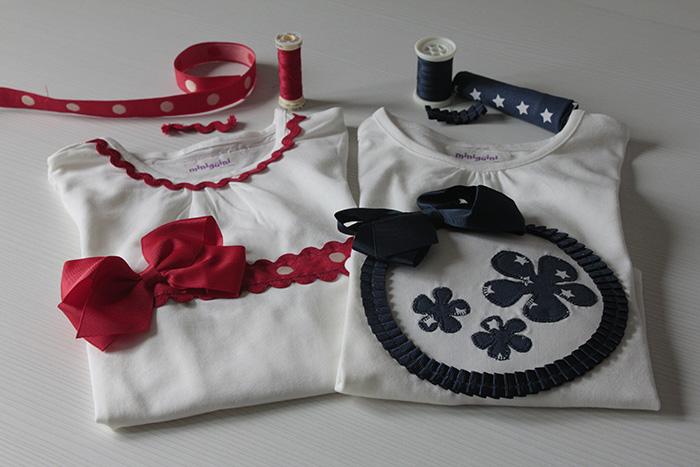 Cómo customizar una camiseta básica de niña - Minigüini 6a4d7e96110dd