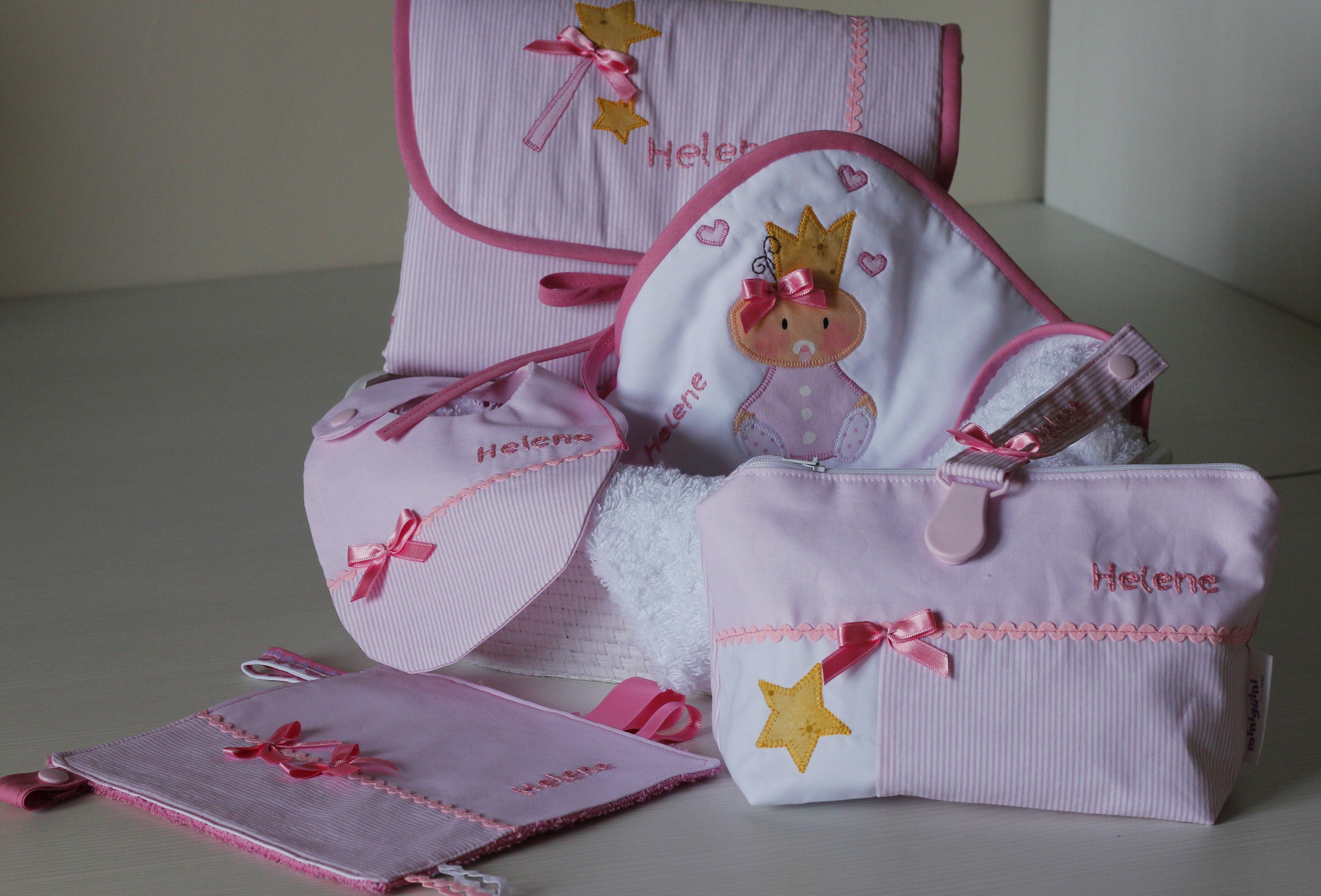 canastilla rosa princesa