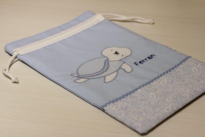 bolsa pañalera niño